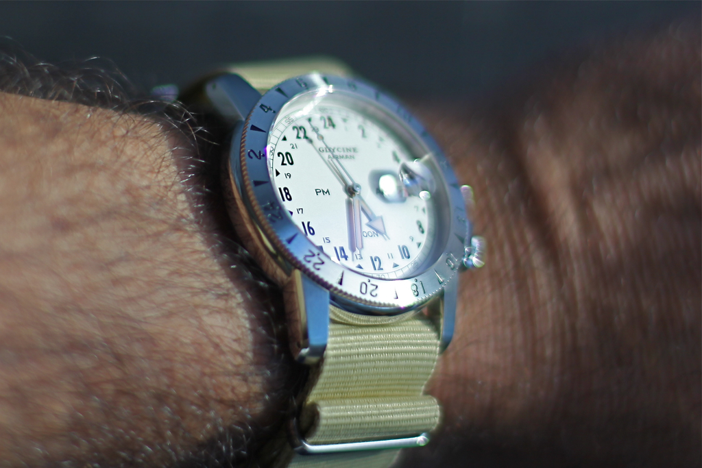 News : Glycine Airman 1953 Vintage IMG_1055