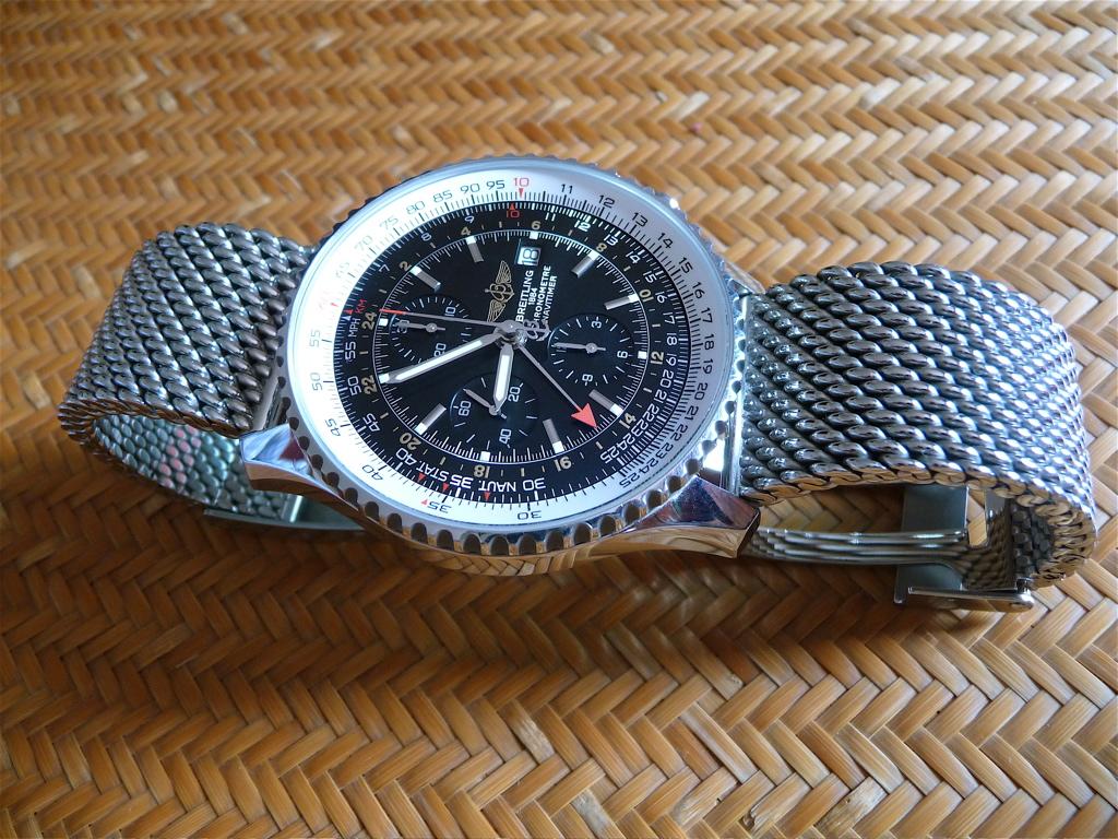 Breitling Navitimer Mesh Bracelet